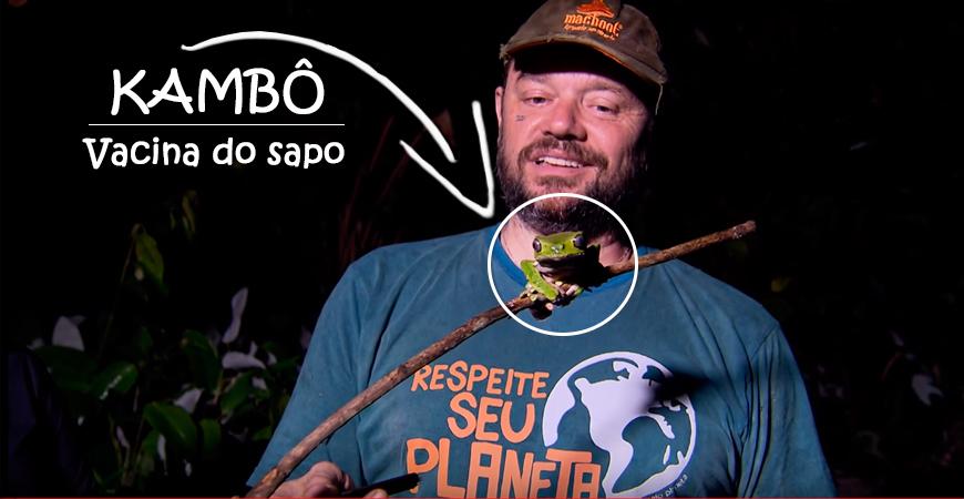 Sapo Kambô - Vacina proibida